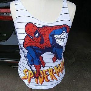 Spider Man Tank Top